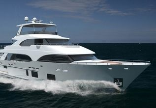 Serenity Charter Yacht at Fort Lauderdale Boat Show 2019 (FLIBS)