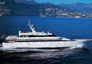 Costa Magna Charter Yacht at Monaco Grand Prix 2014