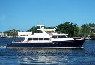 Hooligan V Charter Yacht at Fort Lauderdale Boat Show 2014