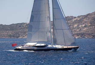 Miss Silver Charter Yacht at The Dubois Cup 2015