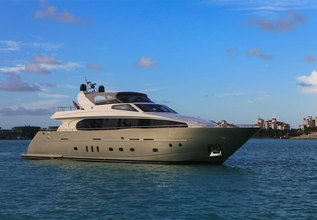 Arquimedes Charter Yacht at Fort Lauderdale Boat Show 2015