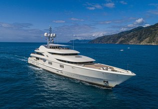 Anna 1 Charter Yacht at The Superyacht Show 2019
