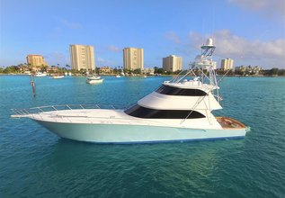 Double Barrel Charter Yacht at Palm Beach Boat Show 2017