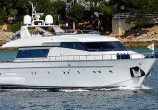 Antares Charter Yacht at Palma Superyacht Show 2015