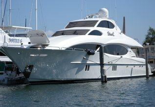 The Beeliever Charter Yacht at Fort Lauderdale Boat Show 2015