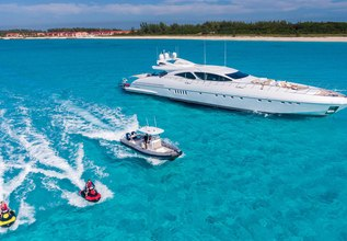 Incognito Charter Yacht at Fort Lauderdale Boat Show 2015