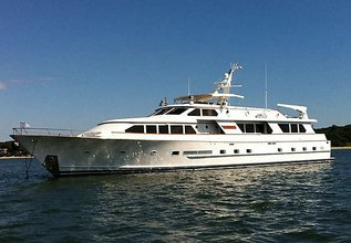 Zantino III Charter Yacht at Fort Lauderdale Boat Show 2014