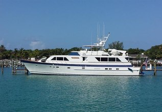 Fair Skies Charter Yacht at Fort Lauderdale Boat Show 2015