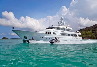 Explora Charter Yacht at Fort Lauderdale Boat Show 2015