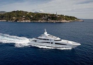 Como Charter Yacht at Monaco Yacht Show 2019