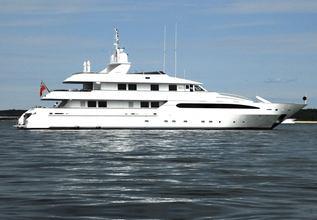 Princess Anna Charter Yacht at Miami Yacht Show 2020