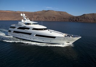 Helios 3 Charter Yacht at Palm Beach Boat Show 2014