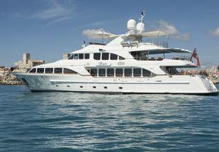 Giorgia Charter Yacht at MYBA Charter Show 2013
