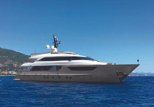 LoveBug Charter Yacht at Monaco Yacht Show 2015