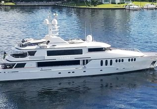 True Love Charter Yacht at Miami Yacht Show 2020