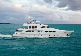 Chosen One Charter Yacht at Palm Beach Boat Show 2014