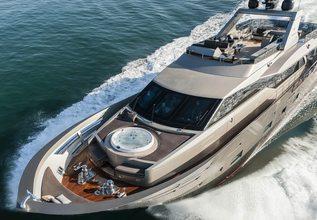 Shadow Charter Yacht at Dubai Boat Show 2014