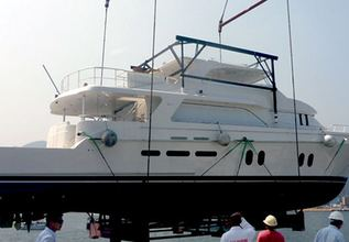 Bravo 84 Charter Yacht at Fort Lauderdale Boat Show 2015