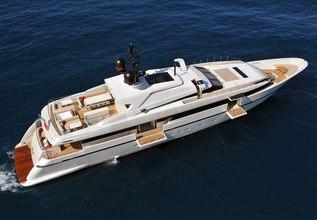 Liliya Charter Yacht at Monaco Yacht Show 2014