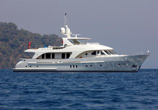 Maximus Star Charter Yacht at Palm Beach Boat Show 2014
