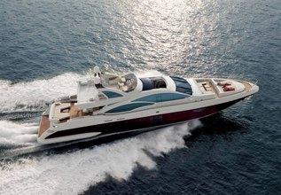Scarlet II Charter Yacht at Dubai Boat Show 2013