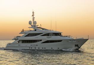 Aziza Charter Yacht at MYBA Charter Show 2018