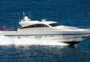 Churri Charter Yacht at Fort Lauderdale International Boat Show (FLIBS) 2021