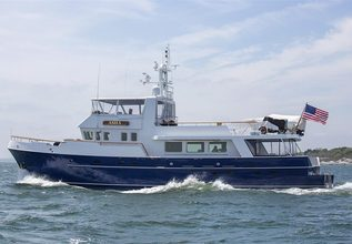 Myu Charter Yacht at Palm Beach Boat Show 2014