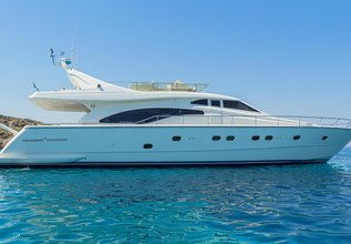 Meli Charter Yacht at Mediterranean Yacht Show 2014