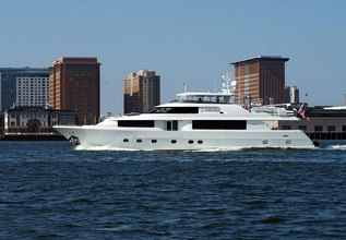 Seahawk Charter Yacht at Miami Yacht Show 2020