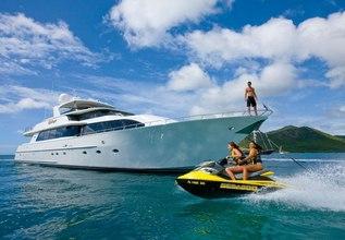 Island Girl Charter Yacht at Antigua Charter Show 2013