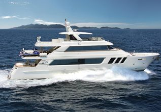 Hiatus Charter Yacht at Fort Lauderdale Boat Show 2016