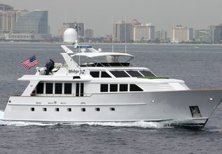 Victory Charter Yacht at Fort Lauderdale Boat Show 2014