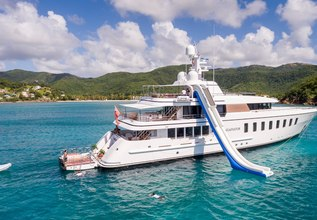 Gladiator Charter Yacht at The Superyacht Show 2018