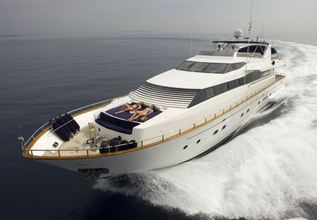 Obsession III Charter Yacht at East Med Yacht Show 2013