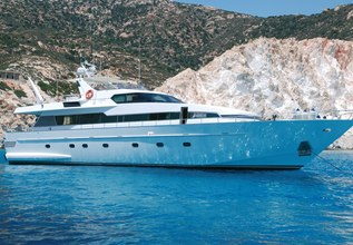 My Way Charter Yacht at Mediterranean Yacht Show 2014