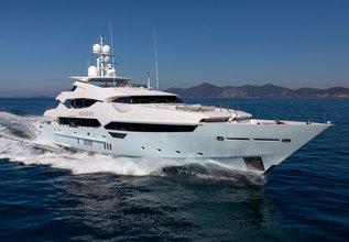 Arados Charter Yacht at Monaco Grand Prix Yacht Charter