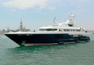 4 Roses Charter Yacht at Fort Lauderdale International Boat Show (FLIBS) 2021