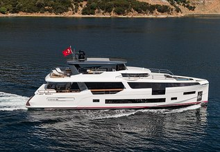 Moanna II Charter Yacht at Cannes Yachting Festival 2019