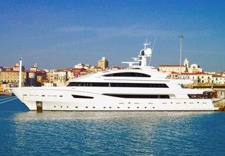 Beatrix Charter Yacht at MYBA Charter Show 2018