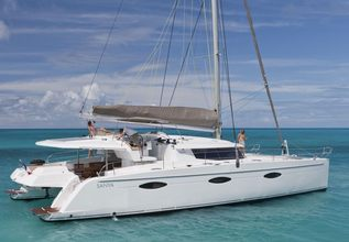 Aoibh Charter Yacht at Antigua Charter Show 2015