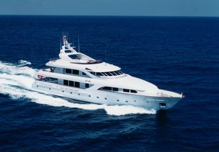 Burgas Charter Yacht at Fort Lauderdale Boat Show 2019 (FLIBS)