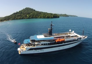 Variety Voyager Charter Yacht at East Med Yacht Show 2014