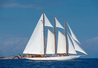Croce del Sud Charter Yacht at MYBA Charter Show 2016