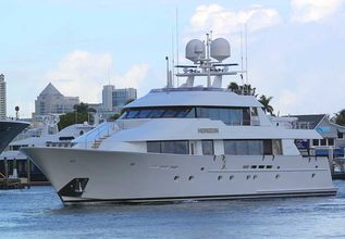 Relentless Charter Yacht at Fort Lauderdale Boat Show 2016