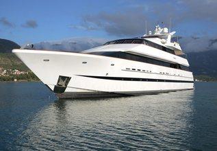 Ladyship Charter Yacht at MYBA Pop-Up Superyacht Show 2016
