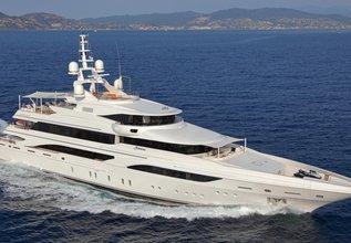 Formosa Charter Yacht at Monaco Yacht Show 2015
