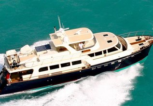 Show Pony Charter Yacht at Fort Lauderdale Boat Show 2015