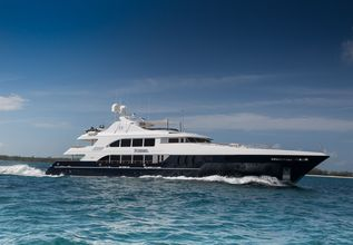 Nicole Evelyn Charter Yacht at Fort Lauderdale Boat Show 2014