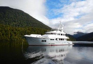 Aroha Charter Yacht at Palma Superyacht Show 2019